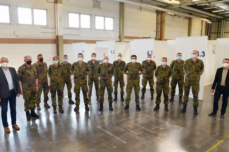 Amtshilfe der Bundeswehr endet. (Foto: Thomas Weinstock)