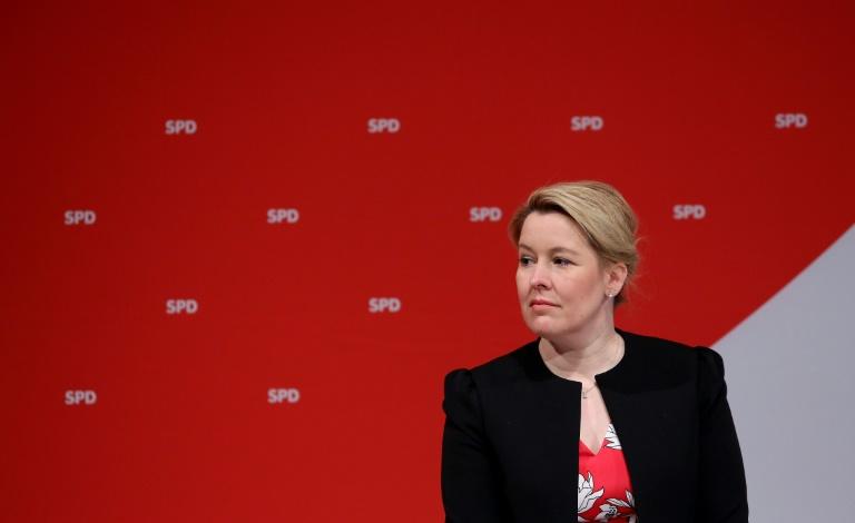 Giffey verteidigt Festhalten an Spitzenkandidatur in Berlin (© 2021 AFP)