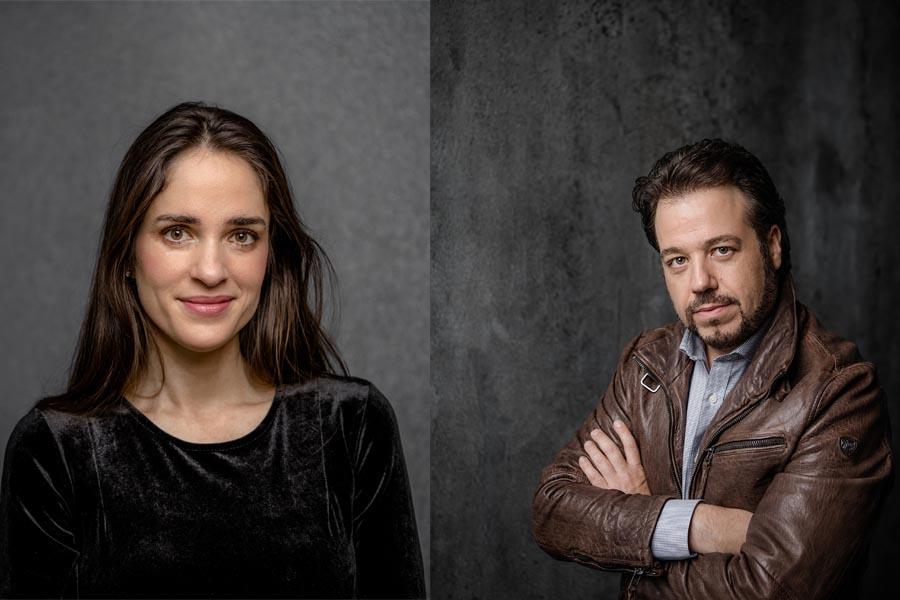Elena Sancho Pereg und Eduardo Aladren (Foto: Andreas Endermann)