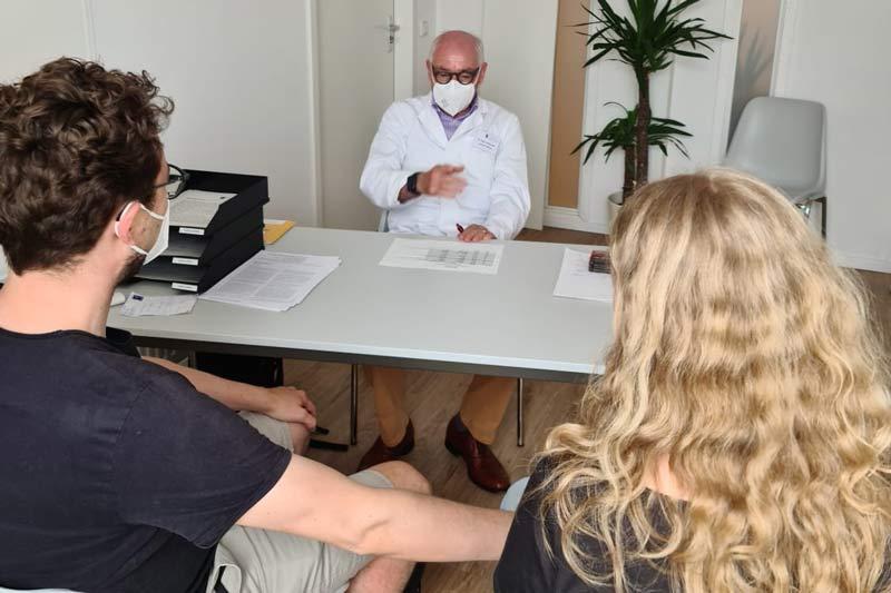 Impfberatung für Schwangere.(Foto: Kreis Kassel)