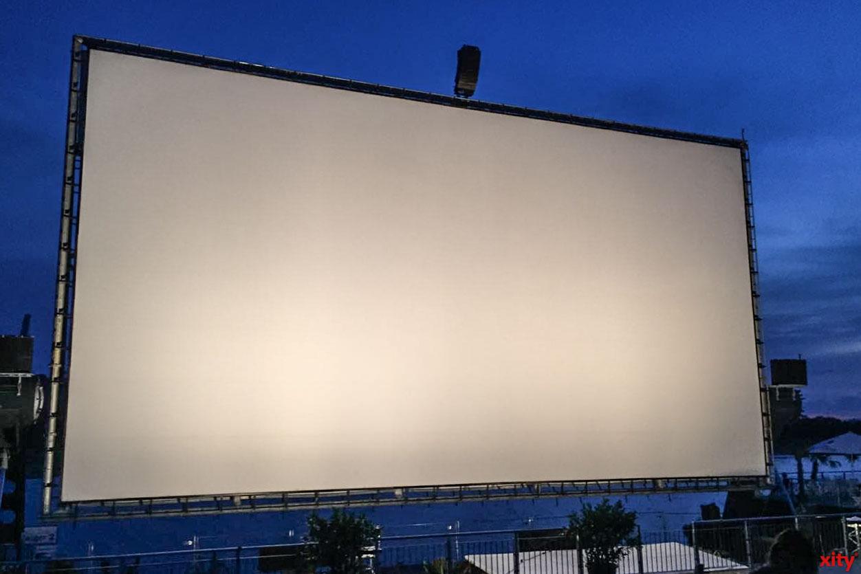 Das Open Air Kino in Düsseldorf findet in diesem Jahr statt (Foto: xity)