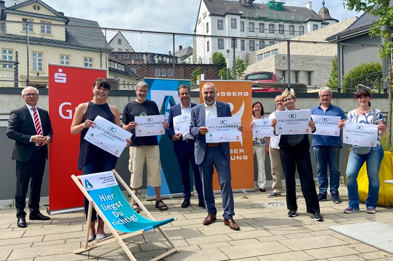 Arnsberg freut sich auf den Kultursommer 2021. (Foto: Stadt Arnsberg)