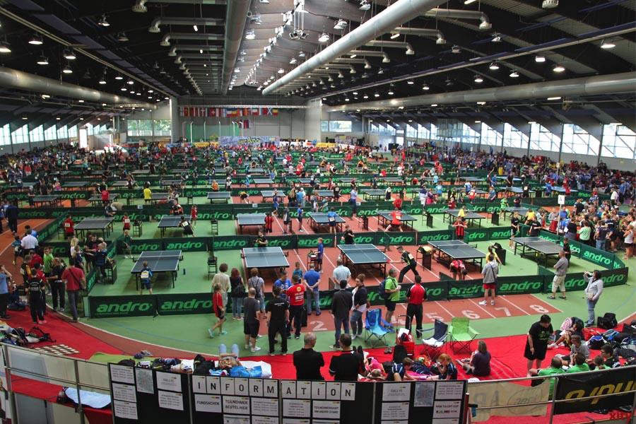 Die andro Kids Open in Düsseldorf finden in diesem Jahr statt (Foto: xity)