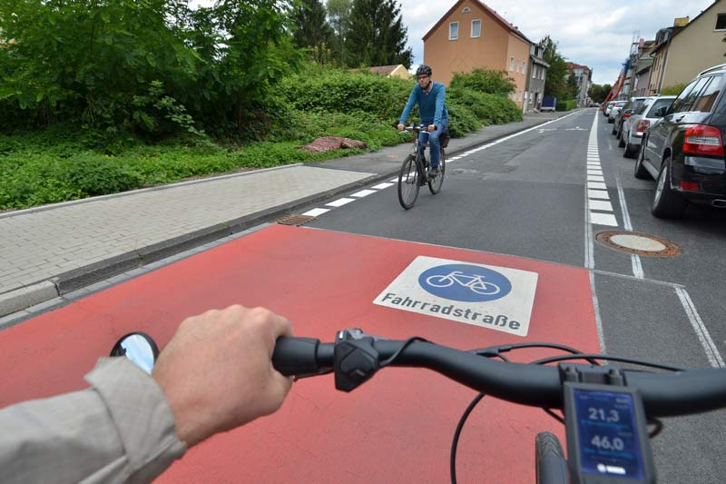 Neue Radwege in Bochum. (Foto: xity)