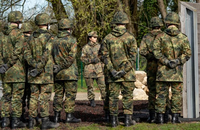 """Wehrbeauftragte nennt Einführung von Militärrabbiner """"großartiges Zeichen"""" (© 2021 AFP)"""