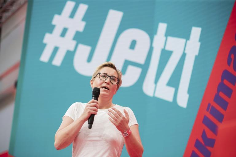 Hennig-Wellsow: Linke muss geschlossen für Erfolg bei der Bundestagswahl kämpfen (© 2021 AFP)