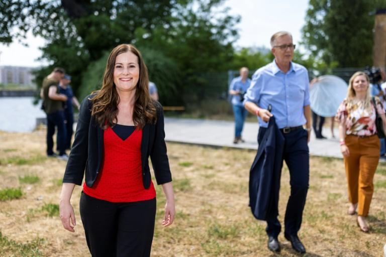 Linken-Spitzenkandidaten erwarten vom Parteitag Signal der Geschlossenheit (© 2021 AFP)