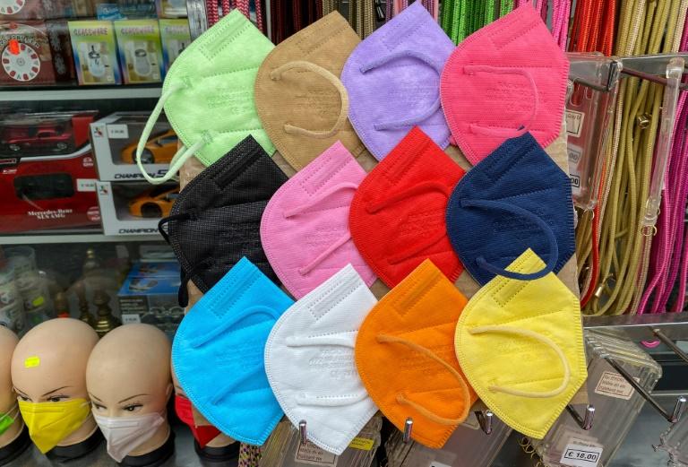 Bundesregierung will FFP2-Masken für Kinder einführen (© 2021 AFP)