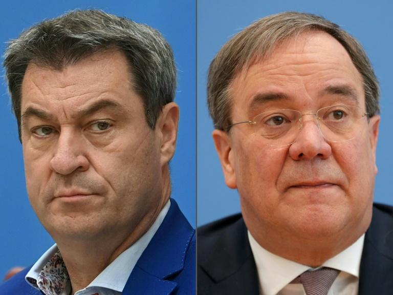 CDU und CSU einigen sich auf Wahlprogramm (© 2021 AFP)