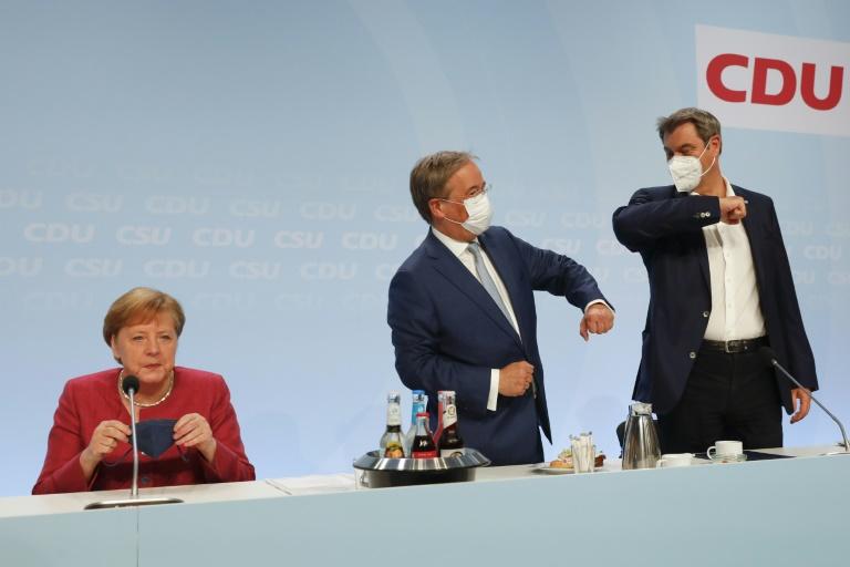"""Merkel sieht """"Epochenwechsel"""" in der internationalen Politik (© 2021 AFP)"""