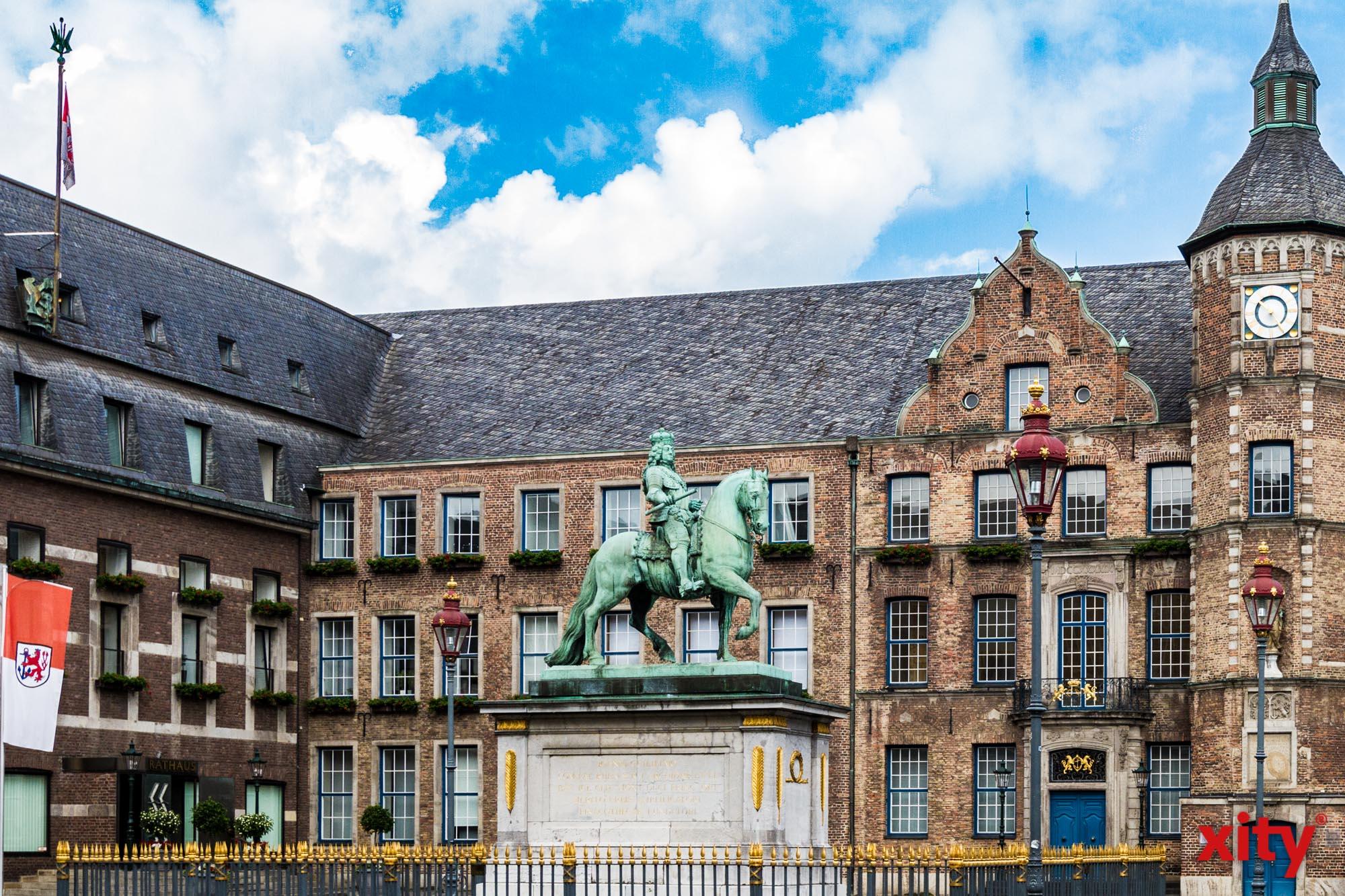 Düsseldorf: Verschlechterung der Haushaltslage für 2021 um weitere 30 Millionen Euro prognostiziert (Foto: xity)
