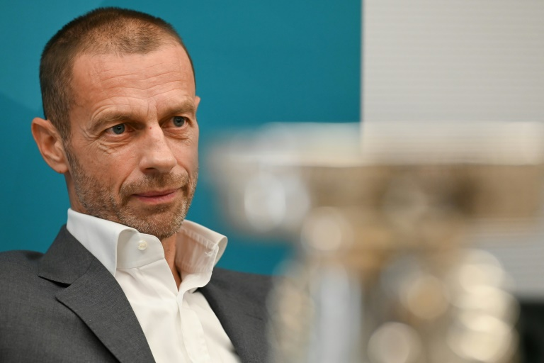 Uefa-Boss begründet Regenbogen-Verbot mit Sorge vor populistischer Vereinnahmung (© 2021 AFP)