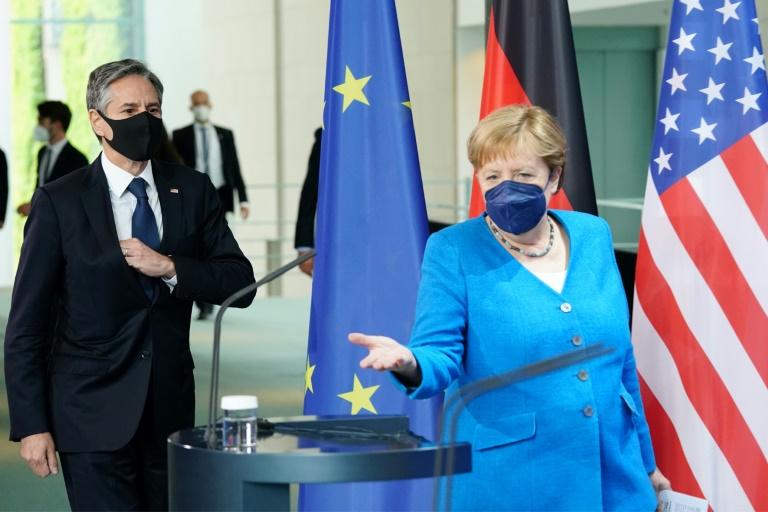 Blinken: USA haben keinen besseren Freund als Deutschland (© 2021 AFP)