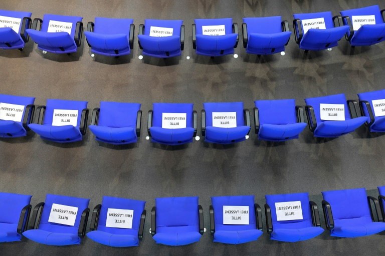 Bundestag bleibt bis Ende der Legislaturperiode auch reduziert beschlussfähig (© 2021 AFP)