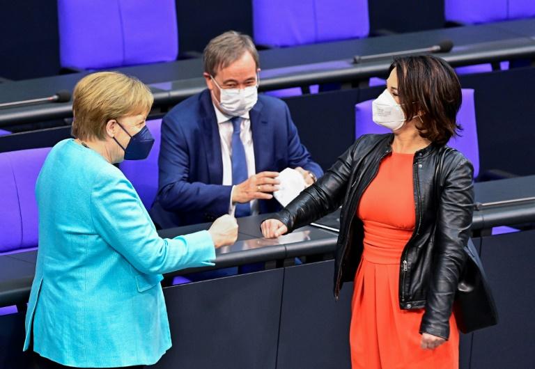"""Grüne legen in """"Deutschlandtrend"""" wieder zu (© 2021 AFP)"""