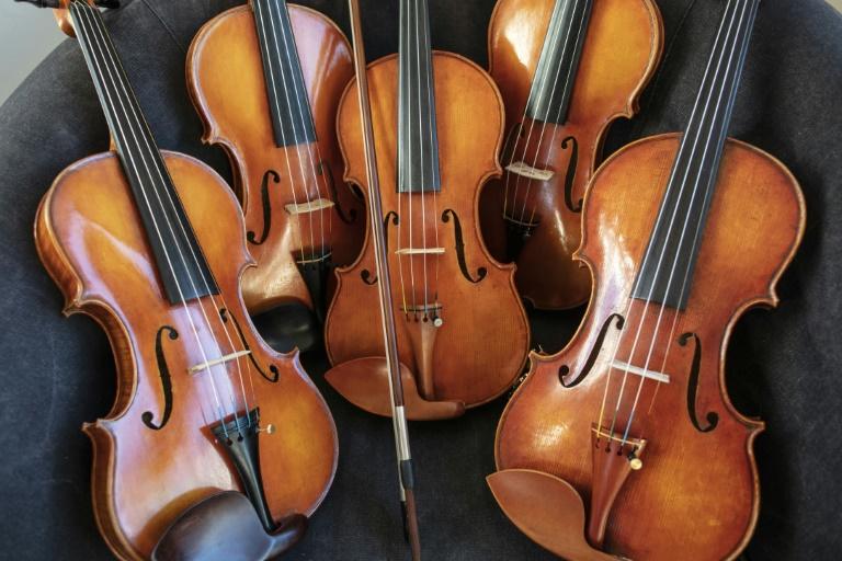 Wertvolle Geige nach Odyssee wieder bei Besitzer (© 2021 AFP)