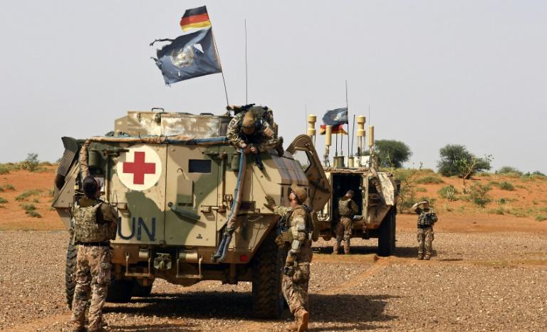 15 deutsche Soldaten bei mutmaßlichem Anschlag in Mali verletzt (© 2021 AFP)
