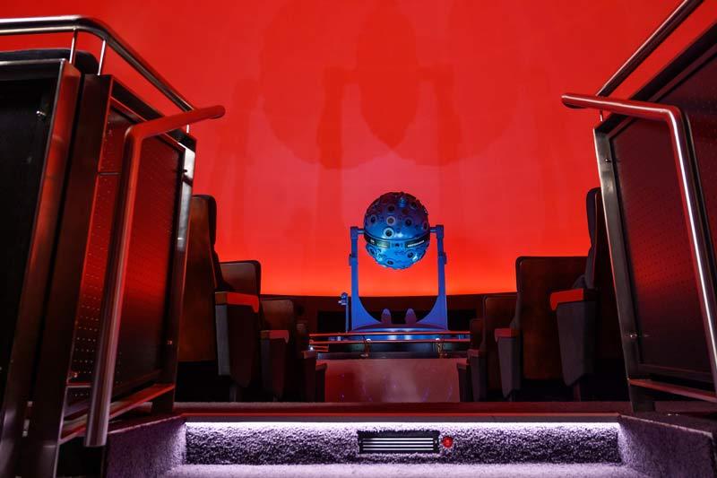 Das wieder geöffnete Planetarium startet mit Vollgas in die neue Saison. (Foto: Planetarium Bochum)