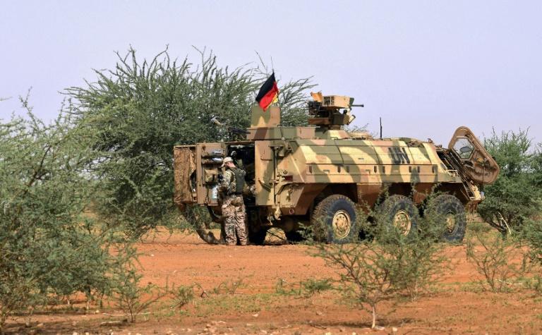 In Mali verletzte Bundeswehr-Soldaten sind zurück in Deutschland (© 2021 AFP)
