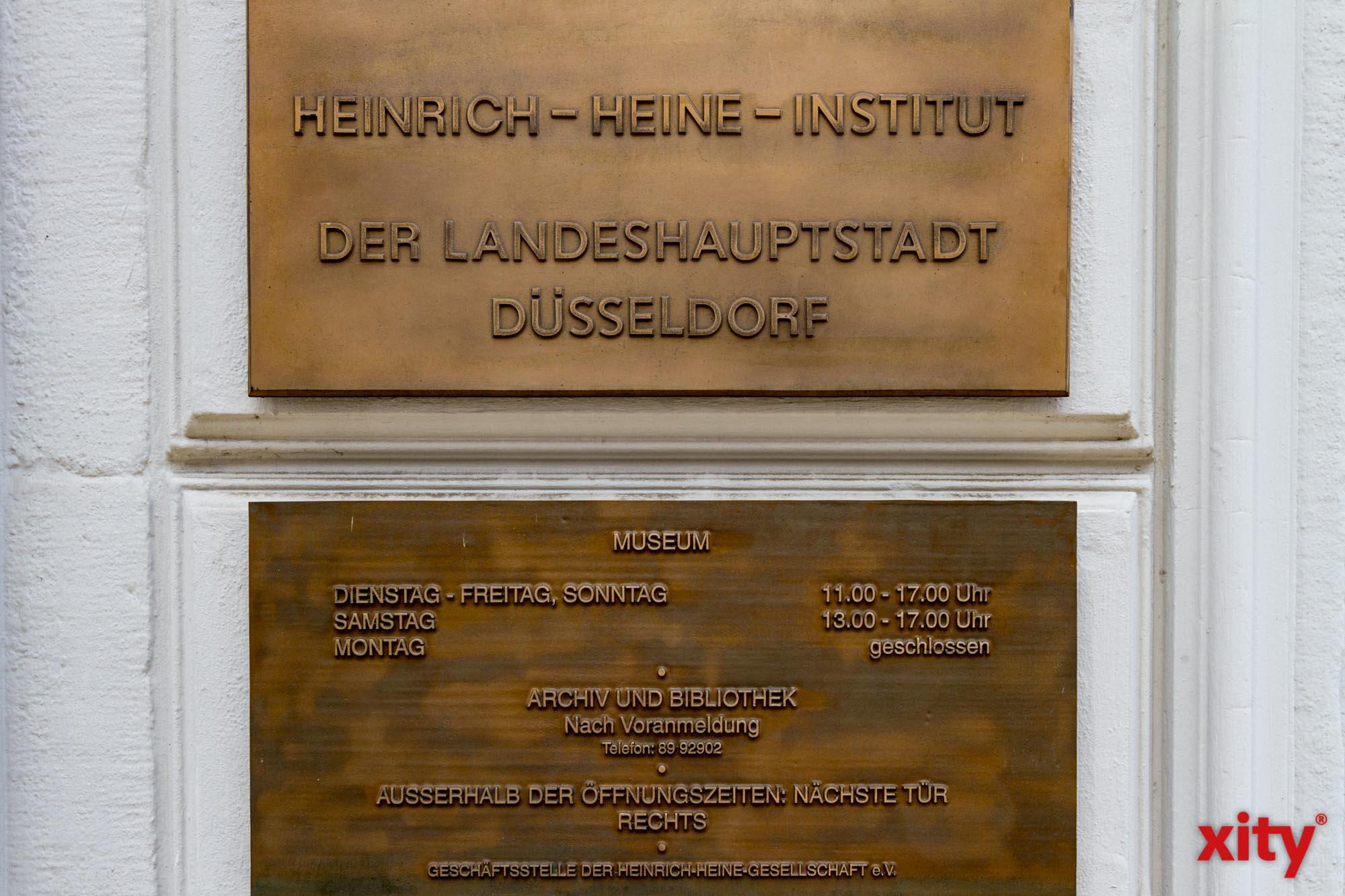 Literatur-Salon im Heinrich-Heine-Institut Düsseldorf (Foto: xity)