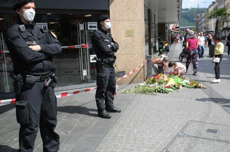 Motive des Messerangreifers von Würzburg weiterhin nicht genau bekannt (© 2021 AFP)