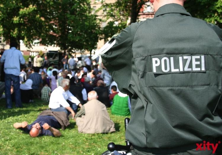 Zahlreiche Verstöße bei Demonstration in Düsseldorf (Foto: xity)