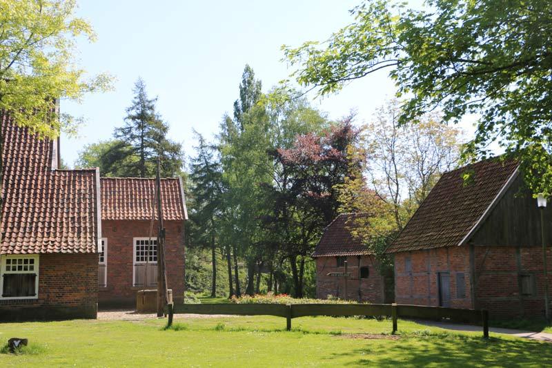 Hofanlage im Stadtpark Vreden. (Foto: Kreis Borken)