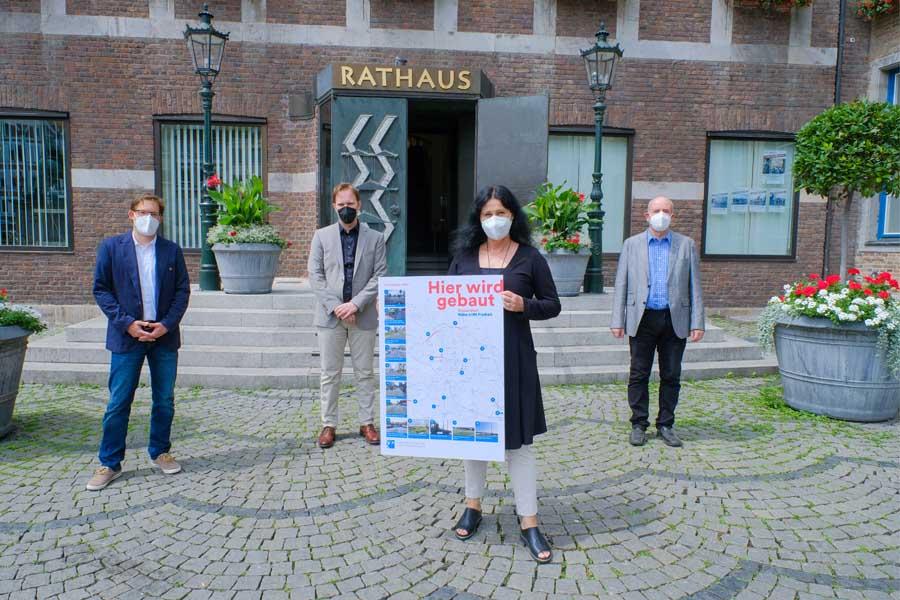 Vorstellung der Einzelheiten zu den Sommerbaustellen 2021 (Foto: Stadt Düsseldorf, Michael Gstettenbauer)