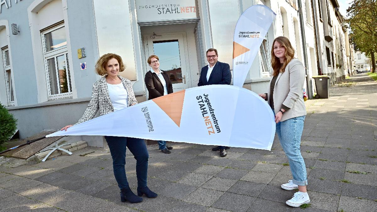 Eines der 21 Jugendzentren in Krefeld ist das Stahlnetz(Foto: Stadt Krefeld, Presse und Kommunikation, A. Bischof)