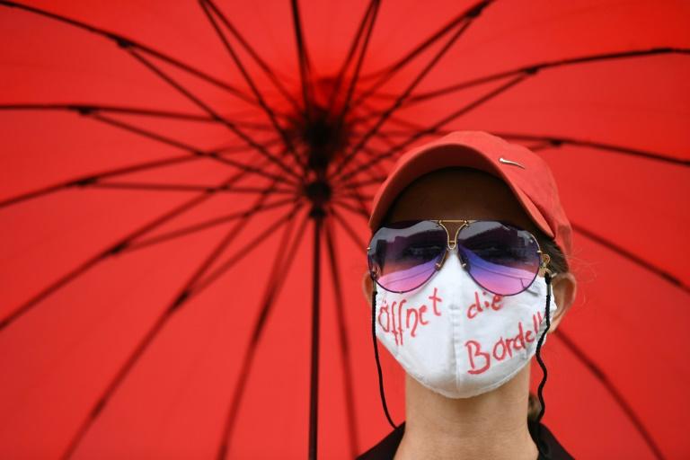 Deutlich weniger Prostituierte im Corona-Jahr gemeldet (© 2021 AFP)