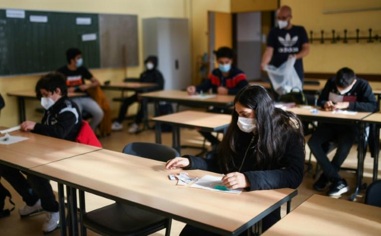 Hunderttausende Ganztagsplätze für Grundschüler fehlen (© 2021 AFP)