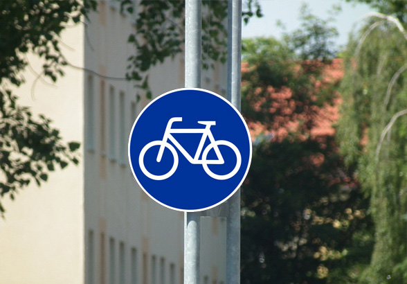 Geh- und Radweg am Hansering gesperrt (Foto: xity)