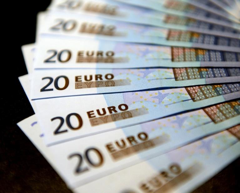 Bericht: EZB-Negativzins ist laut Rechtsgutachten verfassungswidrig (© 2021 AFP)