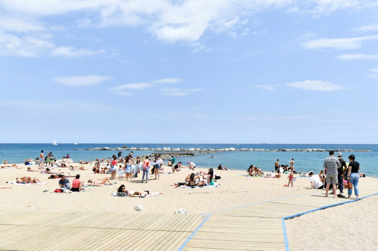 Ferienziele Katalonien und Zypern vom Auswärtigen Amt als Risikogebiete eingestuft (© 2021 AFP)