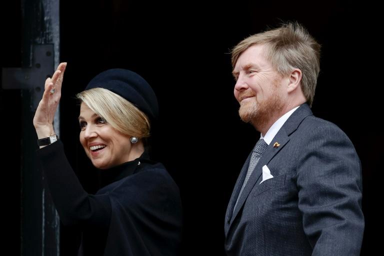 Niederländisches Königspaar kommt zu dreitägigem Staatsbesuch nach Berlin (© 2021 AFP)