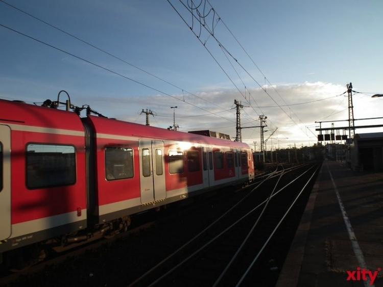 Sperrung der Strecke zwischen Köln und Düsseldorf mit Schienenersatzverkehr (Foto: xity)