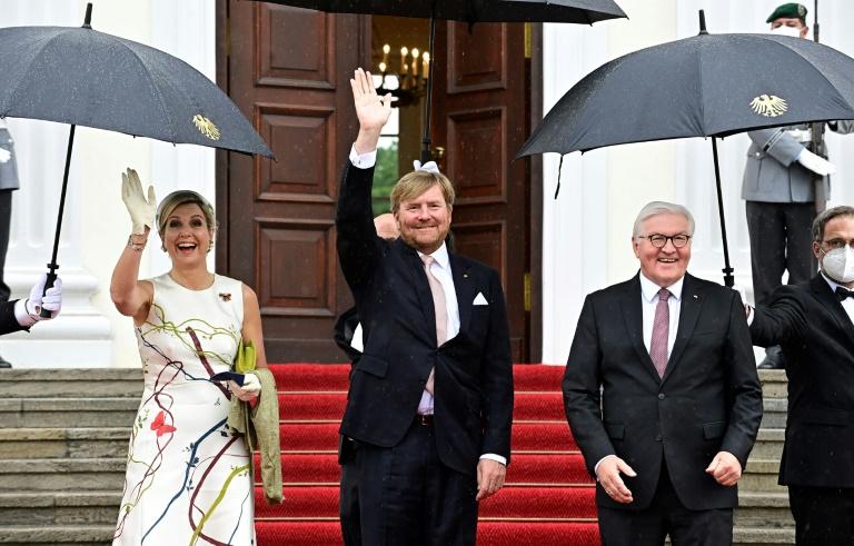 Niederländisches Königspaar startet dreitägigen Staatsbesuch in Berlin (© 2021 AFP)