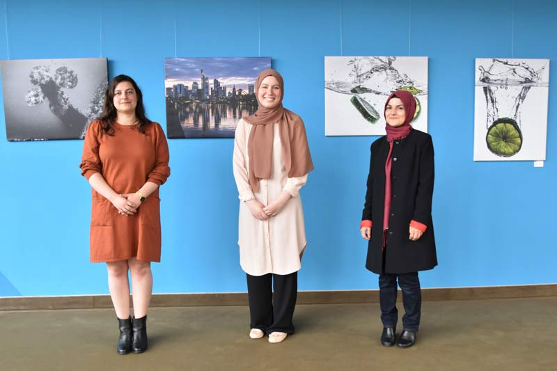 Daniela Gerlach, Hilal Yilmaz und Hatice Altindal (v. l. n. r.). (Foto: Ennepe-Ruhr-Kreis)