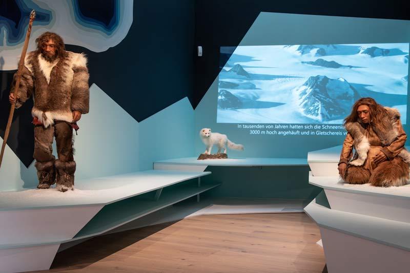 Jäger und Sammler der Eiszeit. (Foto: Sauerland-Museum)
