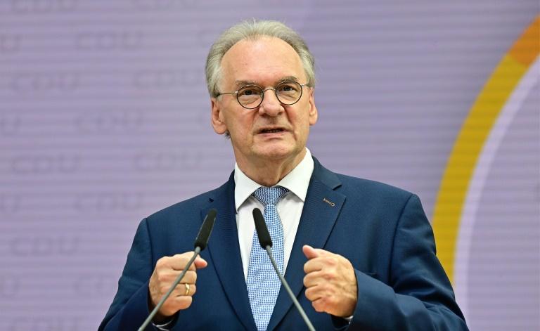 CDU in Sachsen-Anhalt strebt Koalitionsgespräche mit SPD und FDP an (© 2021 AFP)