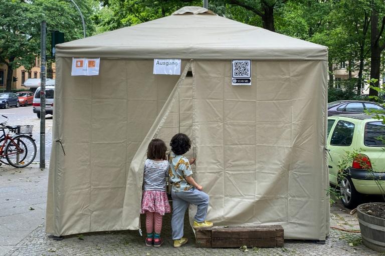 """Nordrhein-Westfalen ermuntert Kommunen zu """"kreativen"""" Impfaktionen (© 2021 AFP)"""