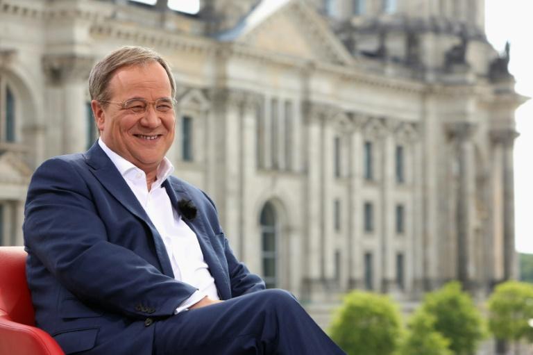 Laschet fordert Auseinandersetzung um Sachthemen im Bundestagswahlkampf (© 2021 AFP)
