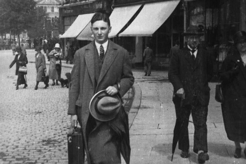 Der Student Max Stern, Bad Nenndorf, um 1926. (Foto: National Gallery of Canada)