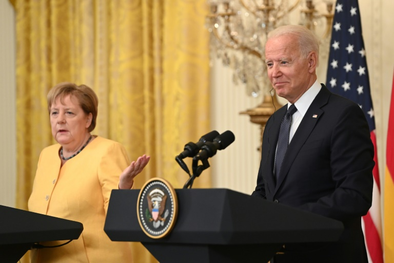 """Biden will in """"kommenden Tagen"""" Antwort zu US-Einreiseverbot geben (© 2021 AFP)"""