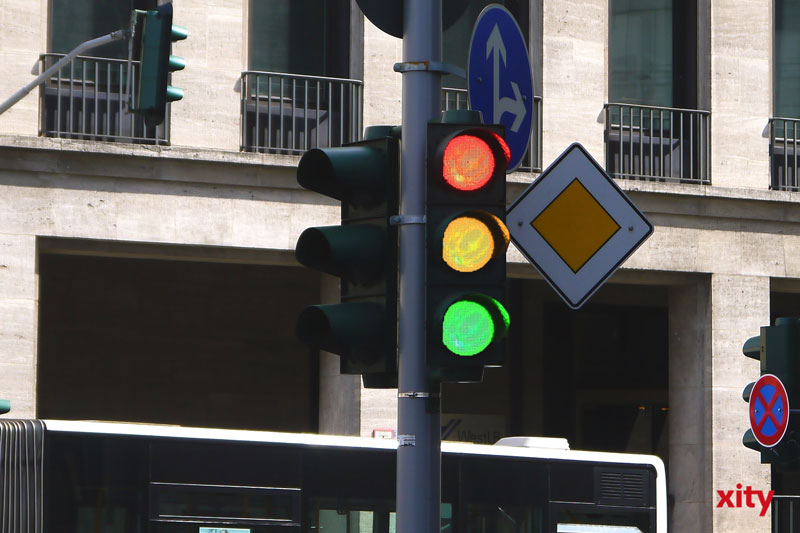 Weitere Ampelausfälle infolge des Starkregens. (Foto: xity)