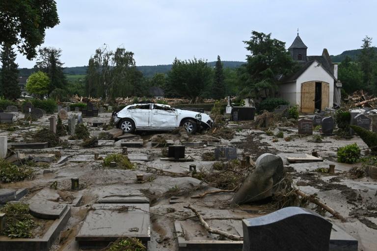 Forderungen nach raschen Hilfen des Bundes für Unwettergebiete mehren sich (© 2021 AFP)