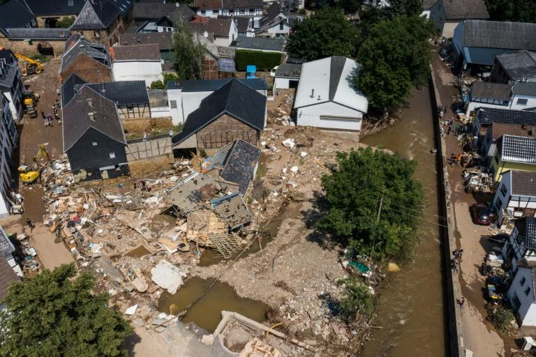 Debatte um Katastrophenschutz nach Unwetterkatastrophe (© 2021 AFP)