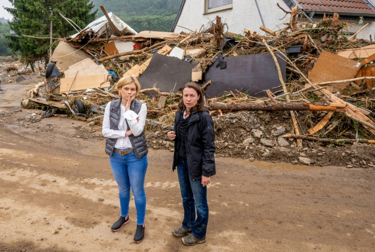 Bürgermeisterin von Altenahr erwartet monatelange Notversorgung mit Wasser und Strom (© 2021 AFP)