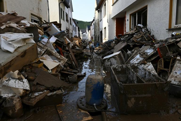 Bericht: 400 Millionen Soforthilfe für Hochwasserregionen geplant (© 2021 AFP)