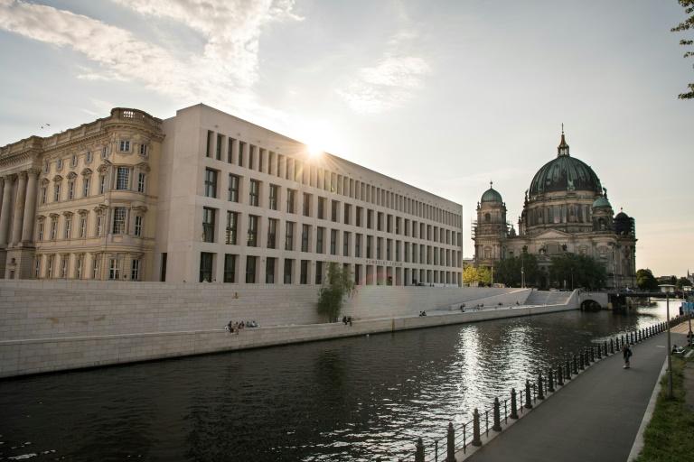 Humboldt Forum in Berlin eröffnet am Dienstag für Besucher (© 2021 AFP)